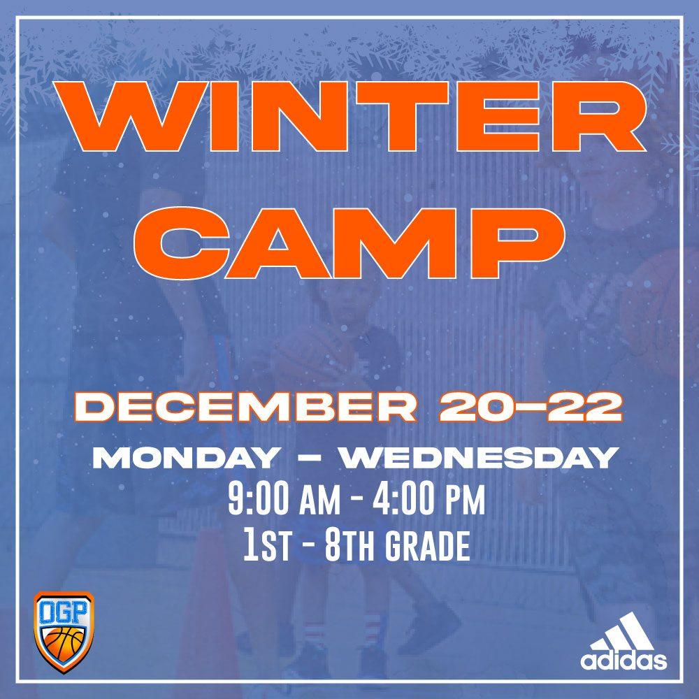 Winter Camp Registration!